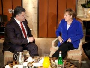 ангела меркель, петр порошенко, новости украины, ситуация в украине, юго-восток украины