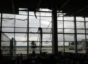 аэропорт, Донецк, подземные ходы, архитектор