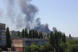 Первомайск, АТО, обстрел, 4 августа, ДНР, Армия Украины