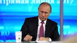 Россия, Путин, Конфликты, Донбасс, Проблема, Прямая линия, Решение.