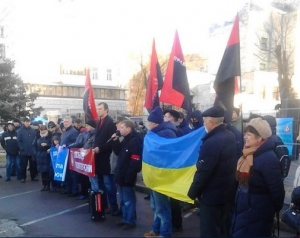 киев, правый сектор, посольство россии