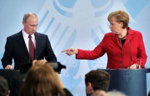 россия, путин, меркель, политика, крым
