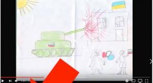 видео, дети, мозги, ютуб, шок, комментарии, аист, рисунок, 2012 год, танк, расстрел, война, Россия, РФ, агрессия, Украина