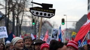 мюнхен, нато, митинг, украина