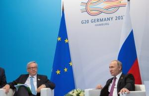 """Саммит """"Большой двадцатки"""" G20, Владимир Путин, Встреча, Жан-Клод Юнкер, Еврокомиссия"""