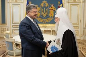 Петр Порошенко, президент Украины, политика, новости, православие, церковь, автоцефалия