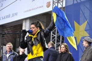 Евросоюз, политика, Евромайдан, киев, Руслана