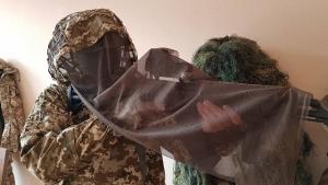 ВСУ, виктор муженко, снайпер, костюм, десна, экипировка, маскхалат