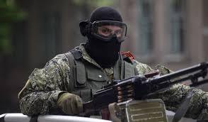 Горловка, боевики, захват, здание, Пенсионный фонд, МВД