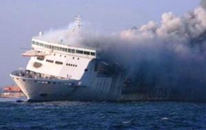россия, литва, швеция, калининград, пассажирский паром, пожар, взрыв, эвакуация