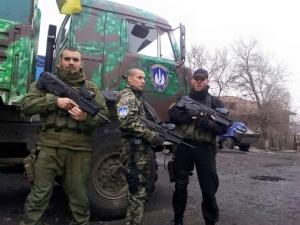 """ато, батальон торнадо, восток украины, донбасс, оружие, автоматы """"Форт-221"""""""