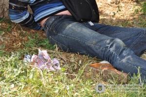 ограбление секонд-хенда, Николаев, криминал, вооруженный налет