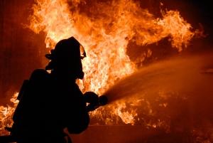 пожар, военный полигон, происшествия, чп, учебные стрельбы, видео, днепропетровская область, новости украины
