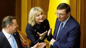 Порошенко, администрация президента, Ирины Луценко отставка