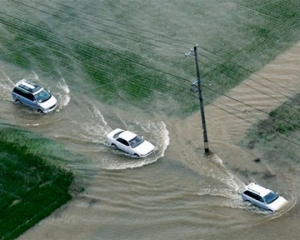 япония, ливни, наводнения