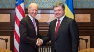 Порошенко, Байден, помощь, финансы, Украина ,США, ЕС