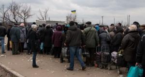 станица луганская, кпп, линия разграничения, луганская область, общество, украина