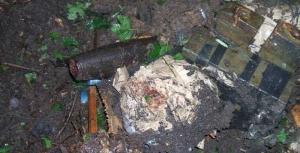 Луганск, Москаль, радиоуправляемые фугасы обезврежены, украинские саперы