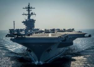 """США, КНДР, Южная Корея, Пентагон, Авианосная ударная группа, """"Рональд Рейган"""", ВМС"""
