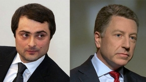 сша, политика, россия, сурков, волкер, переговоры