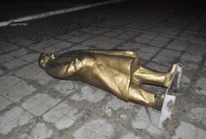ленин, памятник, запорожье, украина, общество
