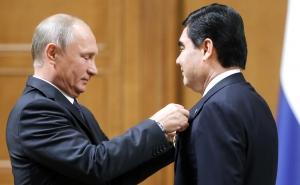 россия, туркмения, скандал, путин, бердымухамедов