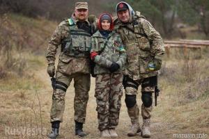 Маруся Звиробий, ВСУ, армия Украины, правый сектор, Украина, Марусины медведи