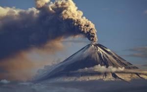 вулкан шивелуч, природные катастрофы, происшествие, россия, камчатка