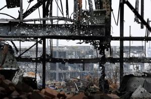 донецк, ато, днр. восток украины, происшествия, общество, армия украины, аэропорт донецка, обсе