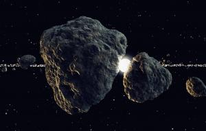 конец света, астероид, происшествия, катастрофа, космос