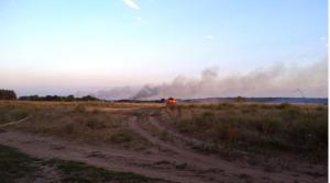 горят торфяники, пожар в Полтавской области, природные катаклизмы