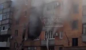 иловайск, многоэтажки, пожар, последствия