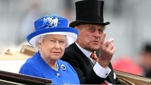 королева, великобритания, Елизавета II, нацистский жест