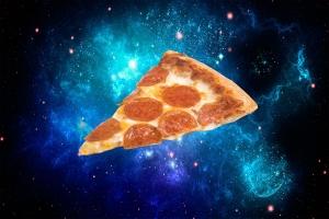 NASA, пицца, астронавты, ракета Antares, МКС, Cygnus