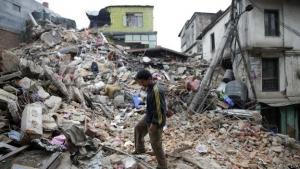 непал, происшествия, землетрясение