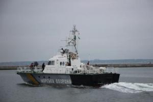 Госпогранслужба Украины, Российское судно, Азовское море, Научный вылов рыбы