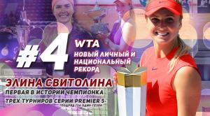 спорт, украина, теннис, свитолина, топ, рейтинг