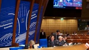 Украина, ПАСЕ, Санкции против России, Владимир Арьев, Дебаты, Заявление