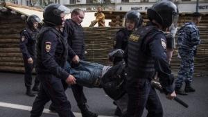 россия, москва, полиция, путин, коррупция, митинг, арест