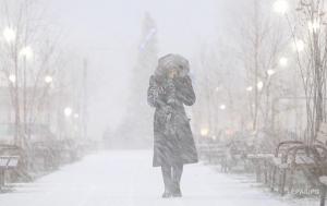 погода, снегопады, украина, похолодание, морозы, снег