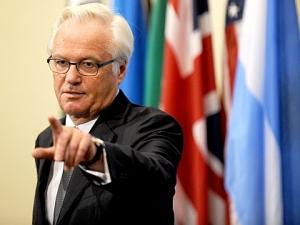 Чуркин, СБ ООН, Донбасс, Мир, переговоры