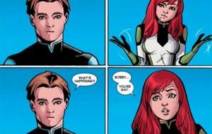 Комиксы, Marvel, люди икс, персонаж, гей, культура, новый выпуск