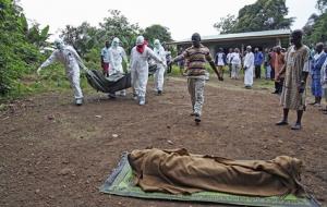 Африка, Эбола, смертность, ВОЗ, заразился британский медик, госпиталь