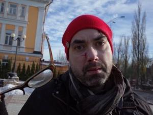 марш в поддержку трансгендеров, Киев, происшествия, избиение журналиста, новости, Украина, Майкл Колборн