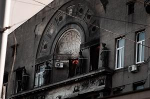Одесса, Пожар, Дом Асвадурова, Жертвы, погибшие, Спасатели, Завалы, !3 человек, ГСЧС, 11 декабря, Тело