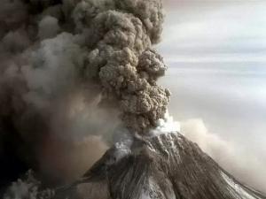 камчатка, шивелуч, вулкан
