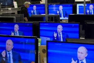 """Кремль, Пропаганда, телеканал """"Звезда"""", Карикатура"""