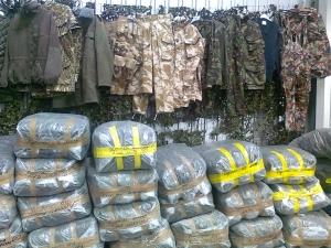 новости Украины, АТО, Степан Полторак, военная форма и обувь