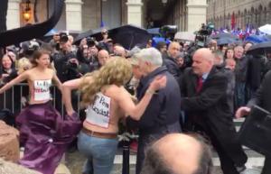 франция, Femen, мари ле пен, происшествия, общество