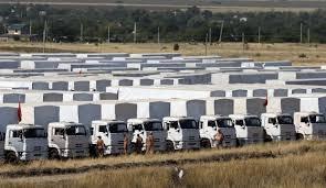 Гуманитарка,Россия,конвой, Ростов, колонна, автомобили, Донбасс
